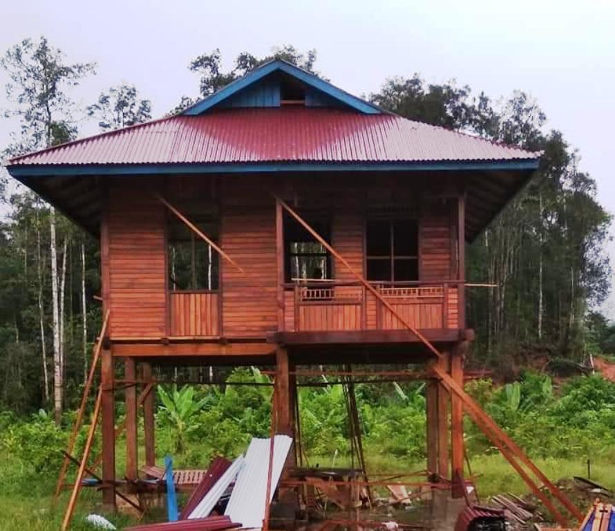 Rumah Minimalis Modern Mulai Dibangun Di Ibukota Fef Tambrauw | Monitor  Papua